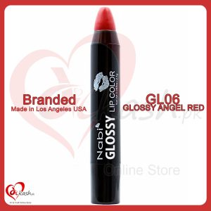 Beautiful Lipstick - Nabi Glossy Lip Color - GL06 Glossy Angel Red