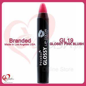 Beautiful Lipstick - Nabi Glossy Lip Color - GL19 Glossy Pink Blush