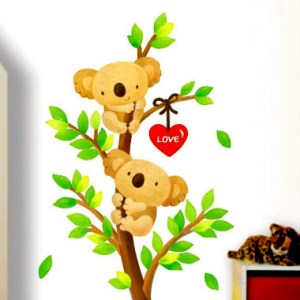 Wall Decor Stickers - Teddy Bear Wall Stickers - XY-1056