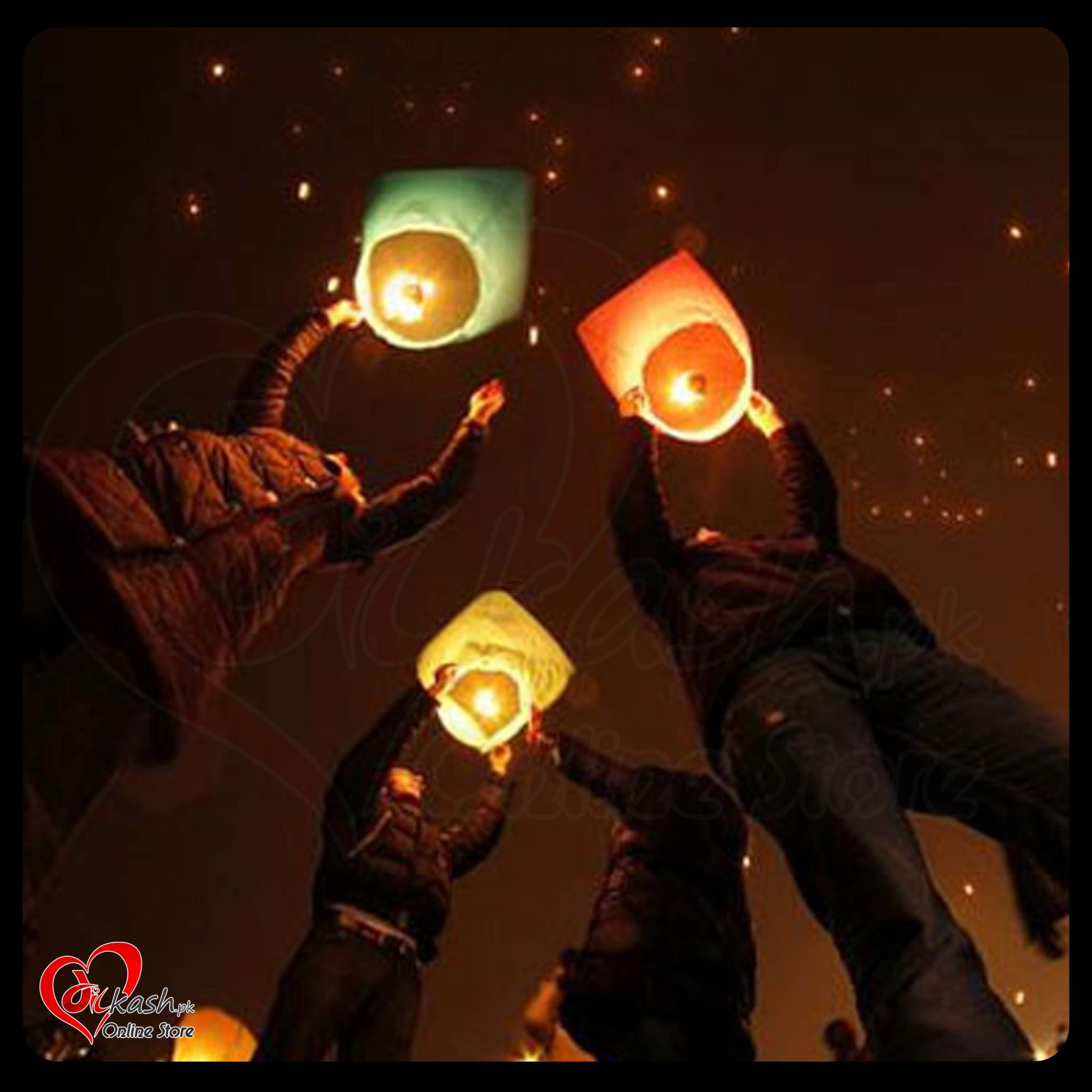 Sky Lanterns Chinese Lanterns Price in Pakistan - ITEM NO 4914 - 6545632456466