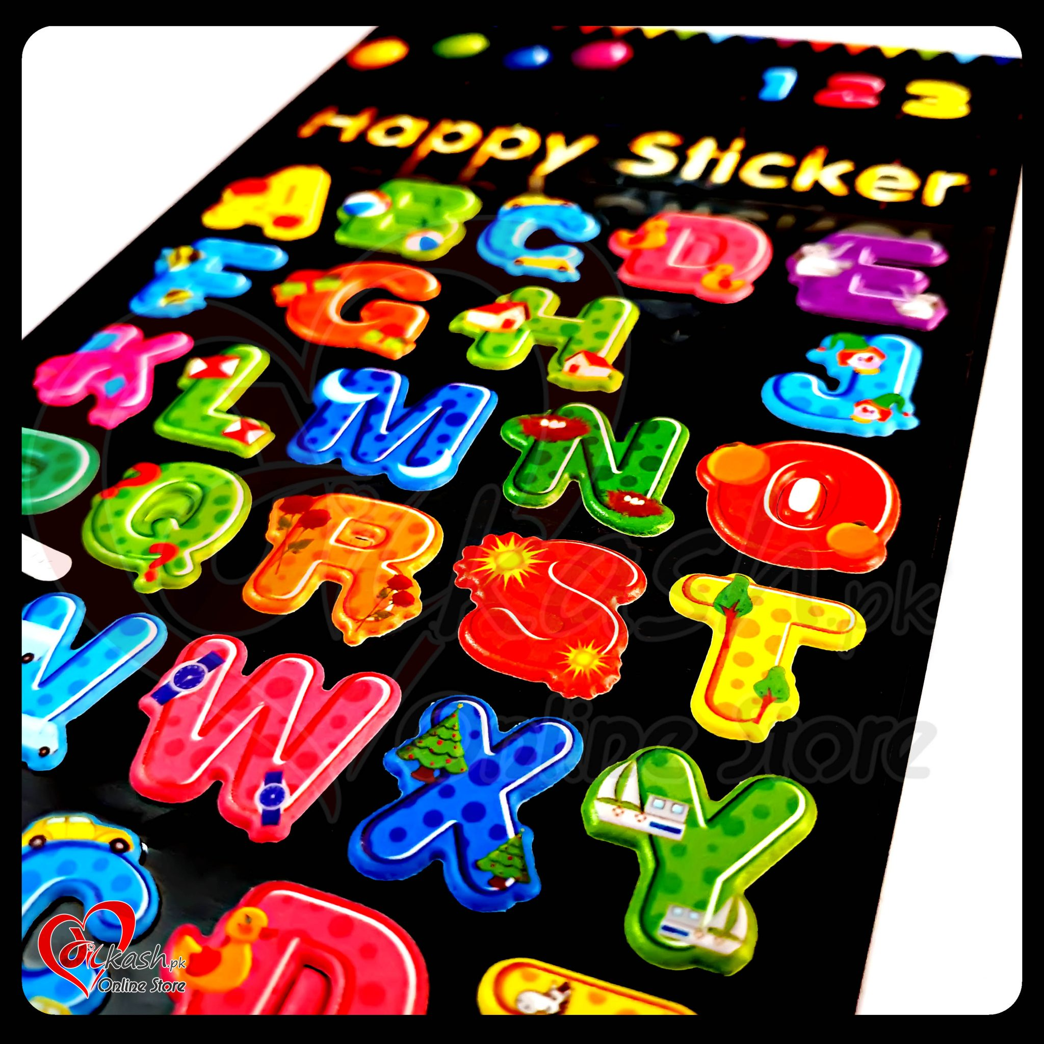 Stickers Online - Alphabet Happy Sticker - ACC-008