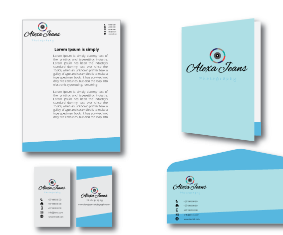 Custom Stationery Design  Personalized Stationery  Simple Unique Modern