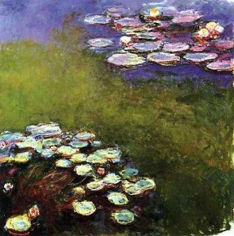Claude Monet  Nymphéas, 1914-1917  Huile sur toile, 200 x 200 cm  Paris, Musée Marmottan Monet (Inv. 5115)  Rif. Bridgeman MMT 82359