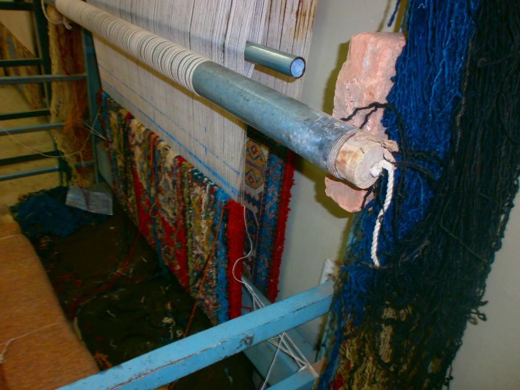 A prison loom.