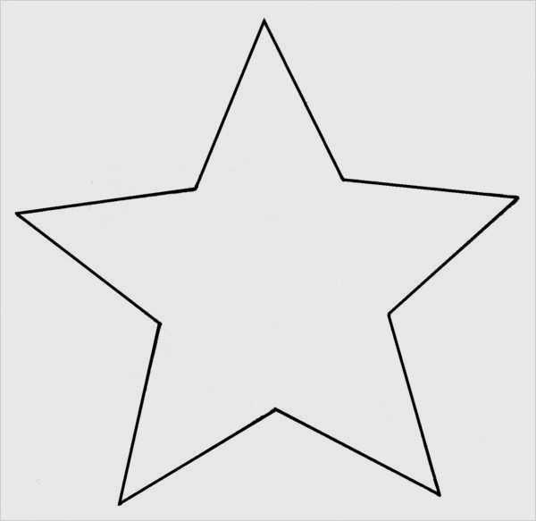 Stern 5 Zacken Vorlage Erstaunlich Stern Vorlage 373