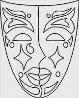 Venezianische Masken Vorlagen Zum Ausdrucken Beste ...