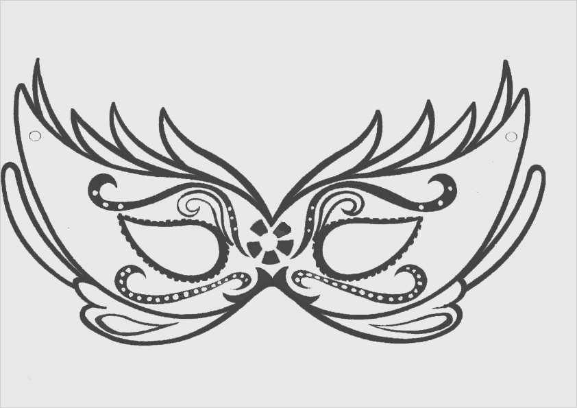 Venezianische Masken Vorlagen Zum Ausdrucken Süß Maske