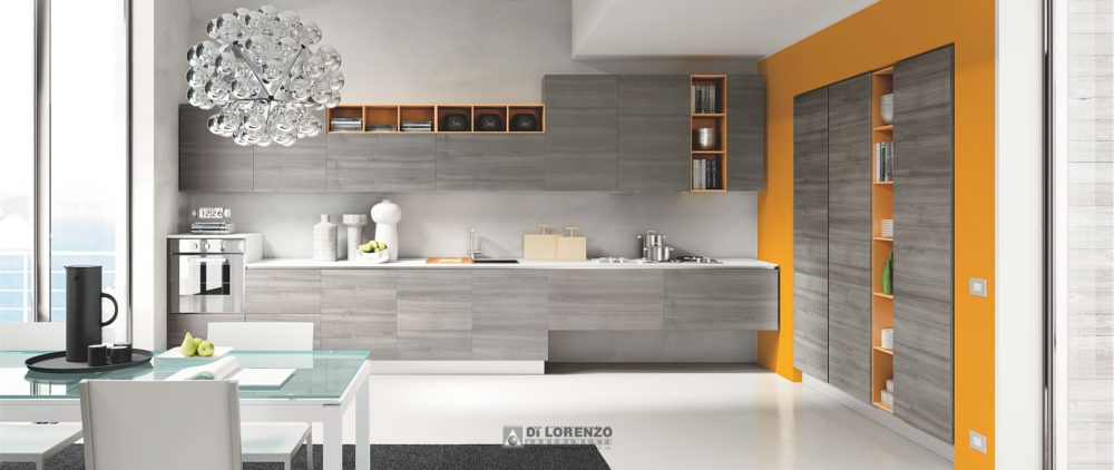 Cucina moderna Oceano  Arredamenti Di Lorenzo Napoli