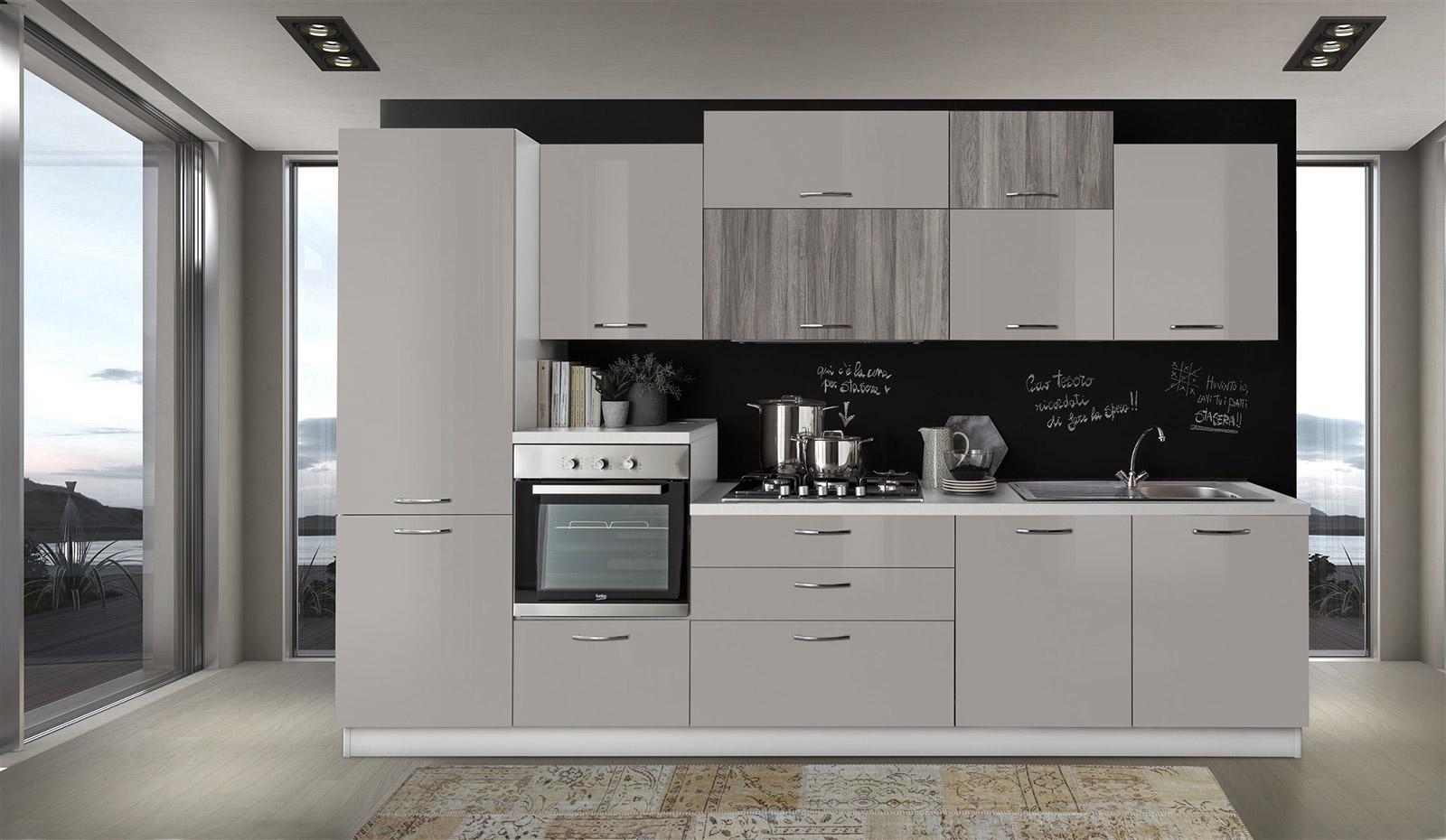 Cucina Cloe con lavastoviglie  Arredamenti Di Lorenzo Napoli