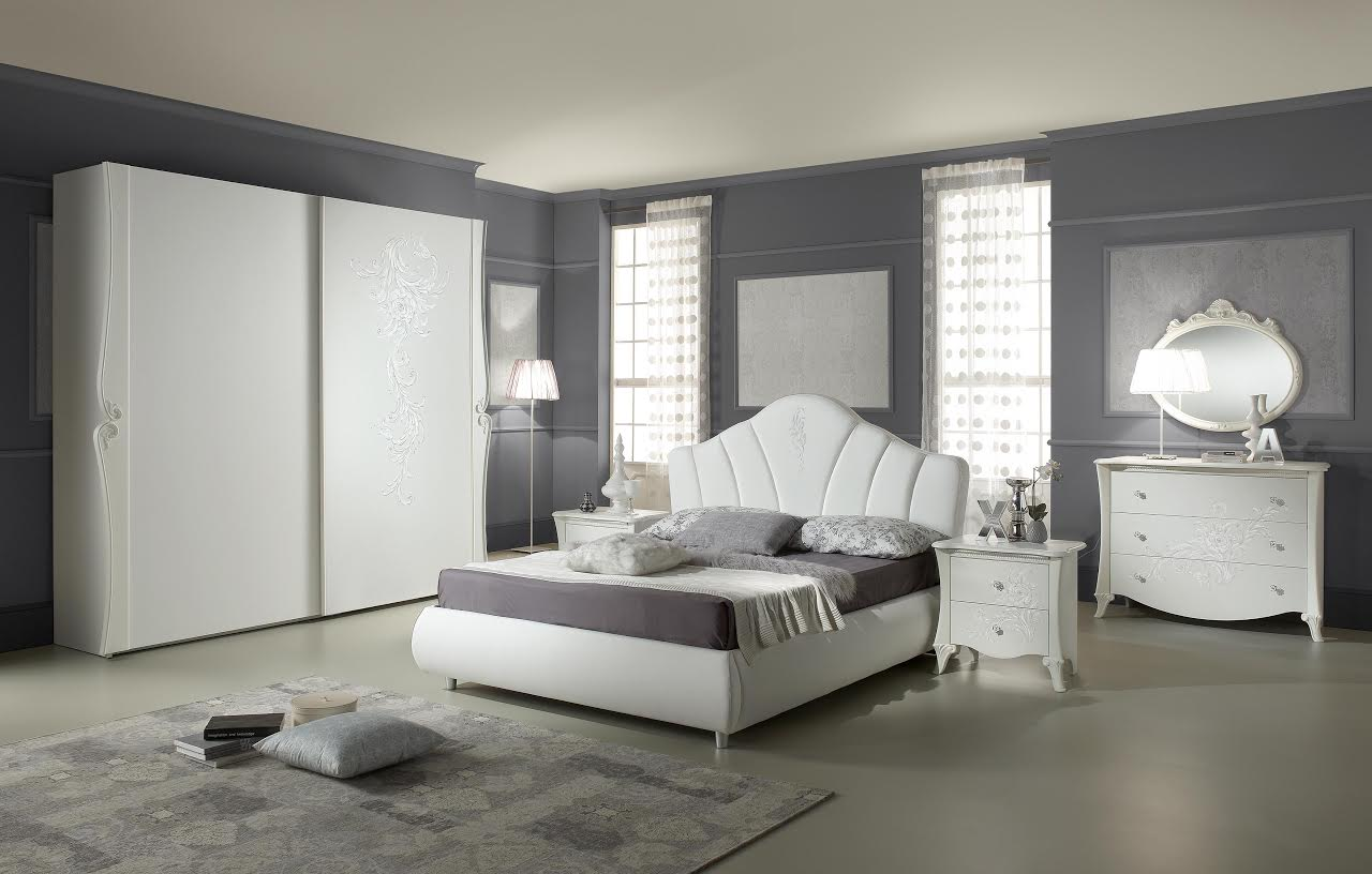 Camera Doris con letto contenitore  Arredamenti Di Lorenzo Napoli