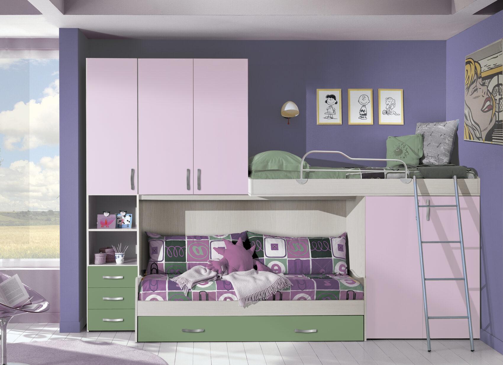In legno dopo anni di uso e «abuso» subiti in una camera di bambini o ragazzi. Camerette Moderne Arredamenti Di Lorenzo Napoli