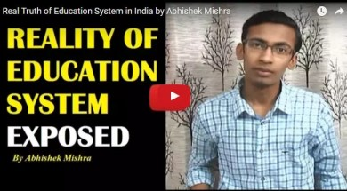 real truth of education system in india
