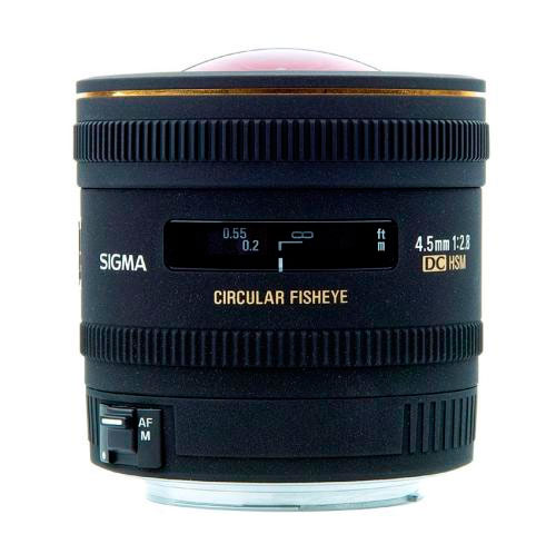 Sigma 4.5mm circular fisheye lens review
