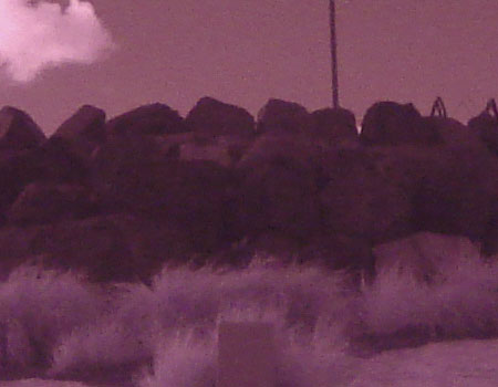Sony H5 Digital Camera Infrared tests