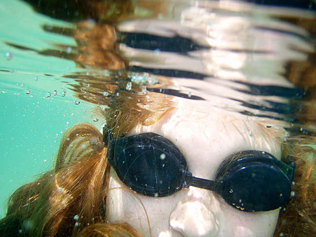 Underwater photograph with Olympus u725SW camera