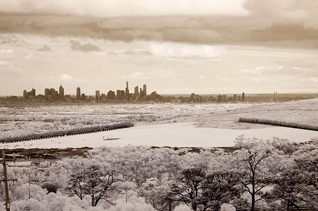 Infrared photography with converted Canon 350D camera