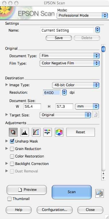 Epson V500 scanner software driver