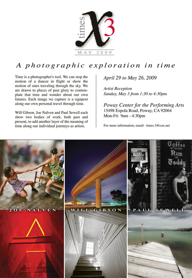 Times 3 photography exhibition