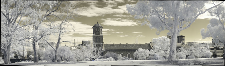 My second IR panorama