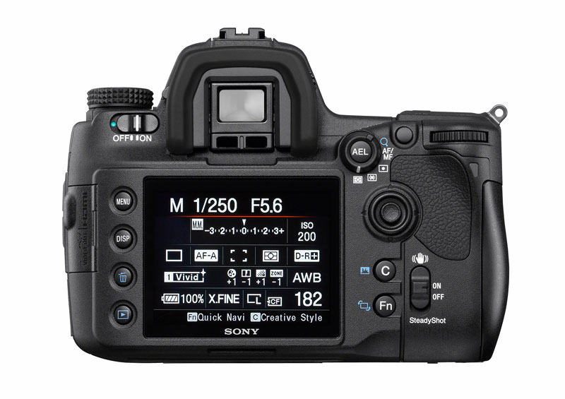 Sony a850 digital SLR camera