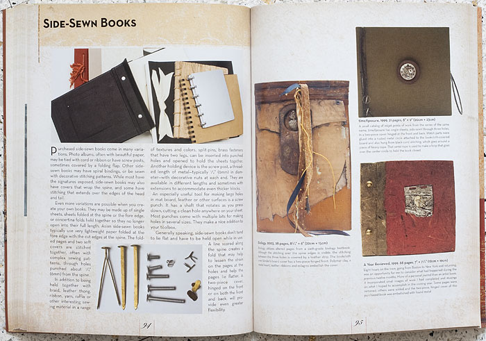 Book + Art Review inside spread