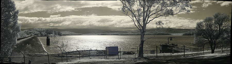 Yan Yean Reservoir. 18,117 x 4,986 or 90MP