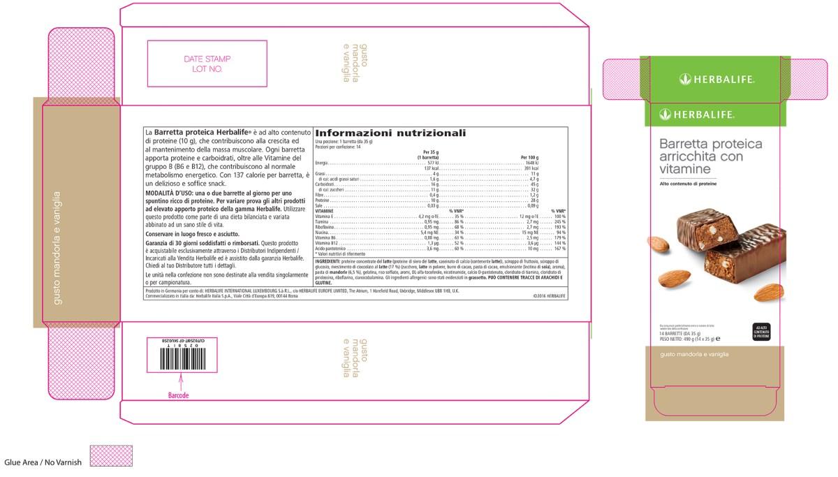 herbalife barrette proteiche