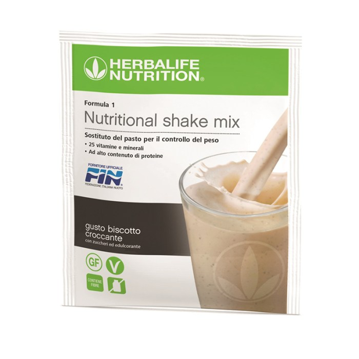 Herbalife Formula 1 bustine gusto vaniglia
