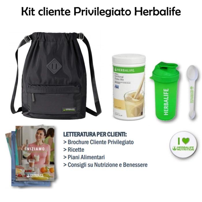Kit cliente privilegiato Herbalife