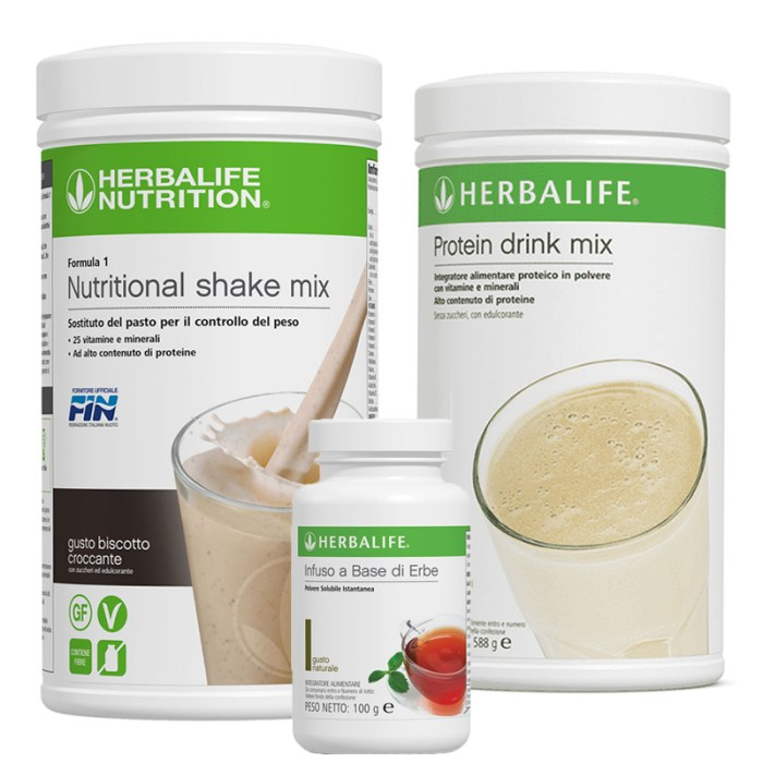 Kit Formula 1 Protein Drink Mix e Infuso alle erbe