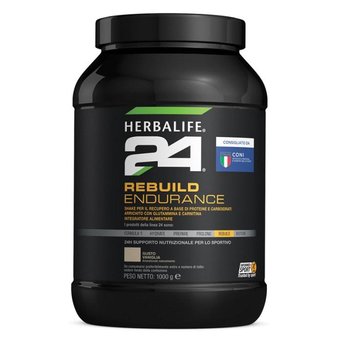 H24 Rebuild Endurance Vaniglia 1000 g