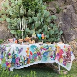 Tovaglia Kactus Tessitura Toscana