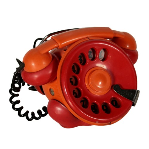 small resolution of bobo rotary phone for tecler plastic vintage italy 1971