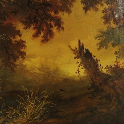Paesaggio Autunnale  Ottocento  Arte  dimanoinmanoit