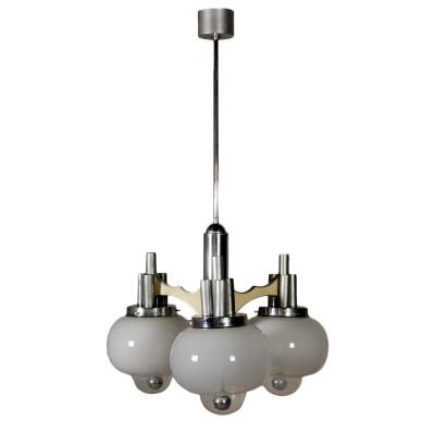 Lampadari in cristallo di boemia anni 60/70. Lampadario Anni 60 70 Illuminazione Modernariato Dimanoinmano It