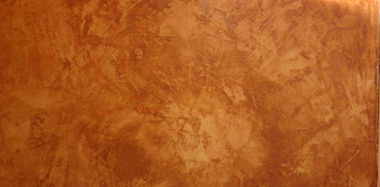 Tinteggiare le pareti colore bronzo o rame  Giuseppe Di