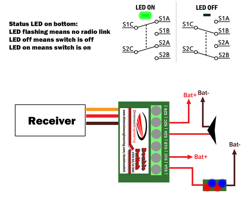 double switch wiring diagram fuel injector doubleswitch radio controlled dual 8a relay diagrams example jpg