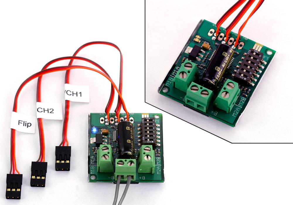 dual battery wiring diagram compressor single phase sabertooth 2x5 r/c regenerative motor driver