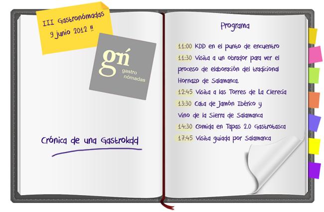 Gastronomadas en Salamanca: mi cuaderno de notas
