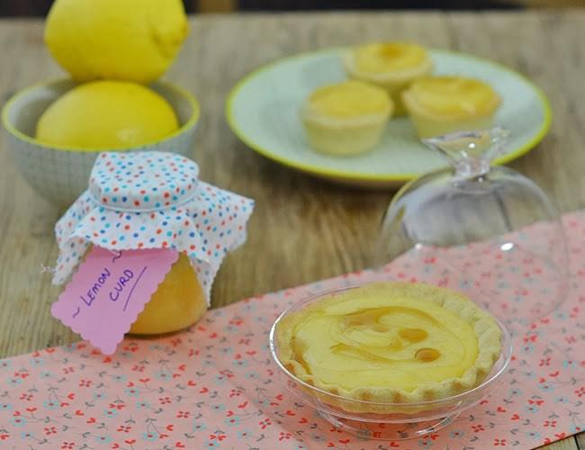 Tartaletas de lemon curd, programa de Al Dente en La 8 Salamanca
