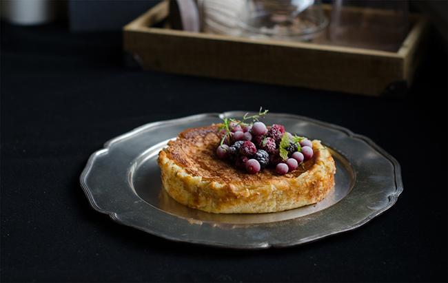 Tarta de queso cremosa estilo «La Viña»