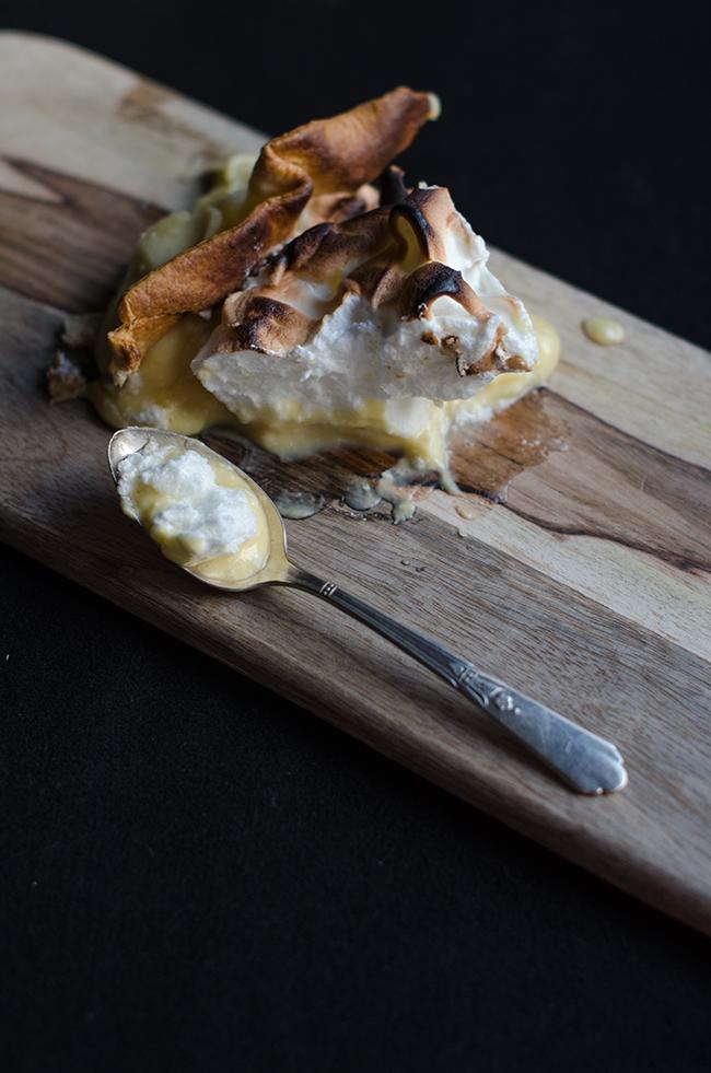 Lemon Pie -tarta de limon y merengue