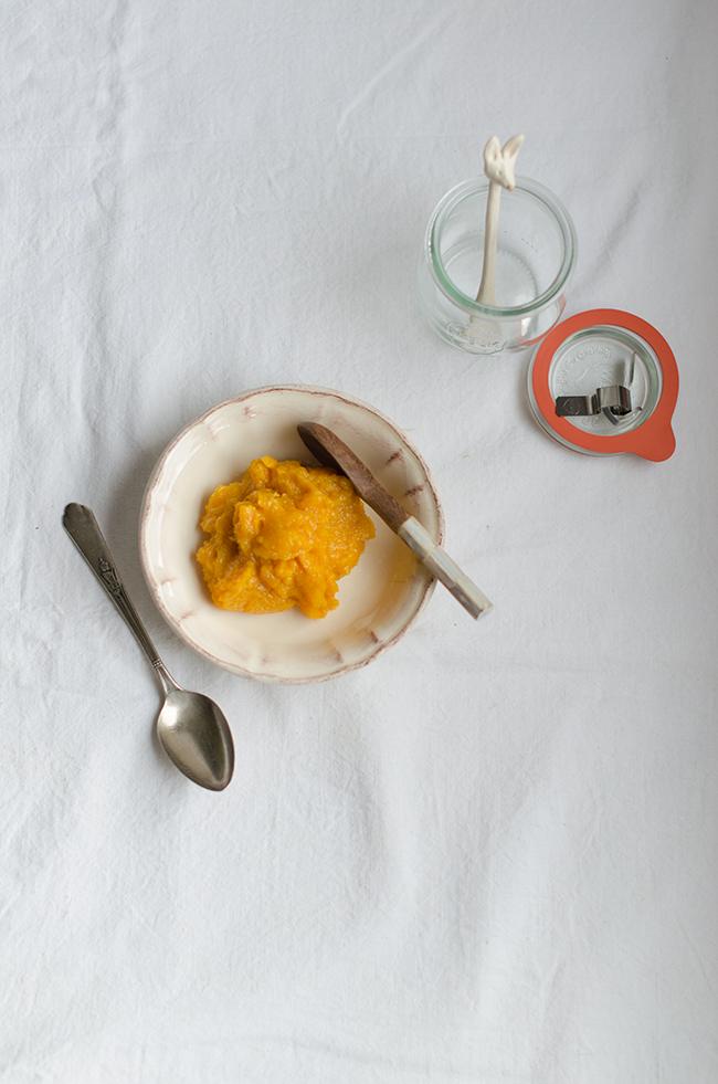rapsodia de naranja y jengibre