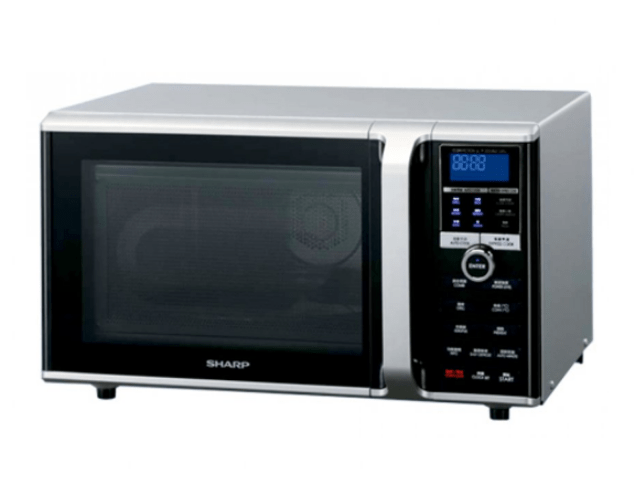 Microwave Oven Sharp R-899R(S)-IN-diminimalis.com