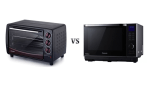 Oven Sharp EO-28LP(K) vs Panasonic NN-DS596-diminimalis.com