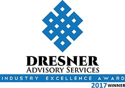 2017 Dresner Advisory Services Industry Excellence Award