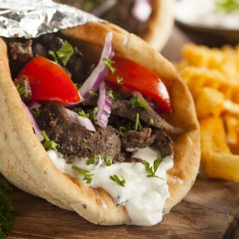 The Ultimate Greek-American Gyro Pita - Dimitras Dishes