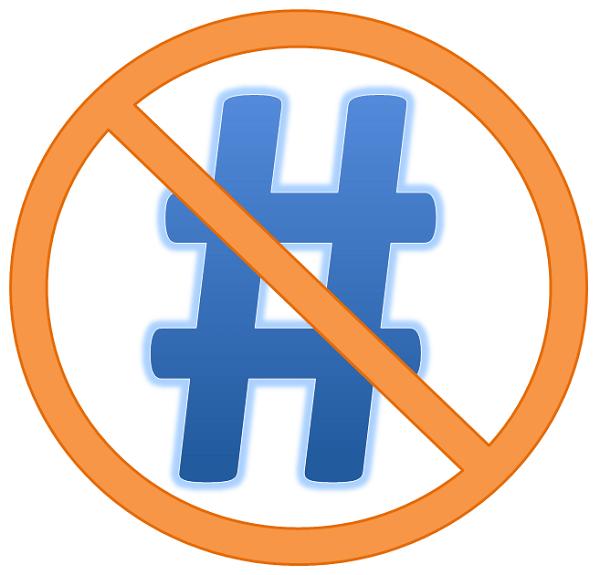Hashtags blokkeren op Twitter