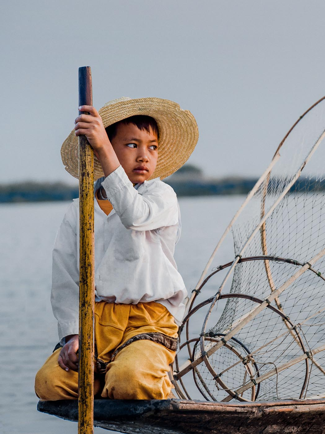 INLEE LAKE FISHERMANS