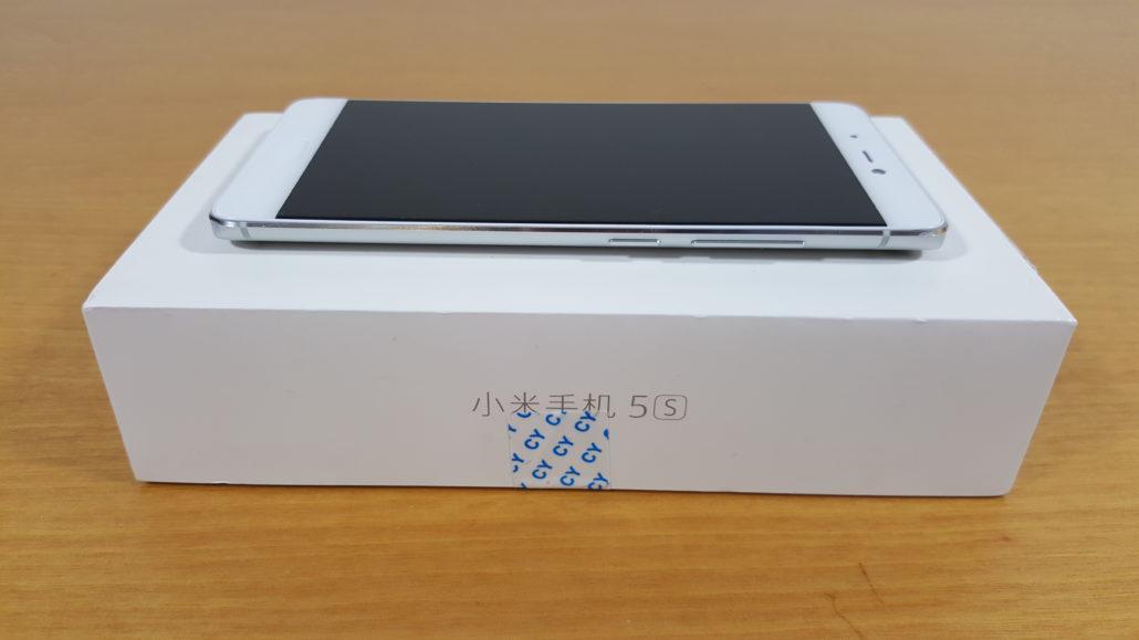 Xiaomi mi 5S Dimitrology